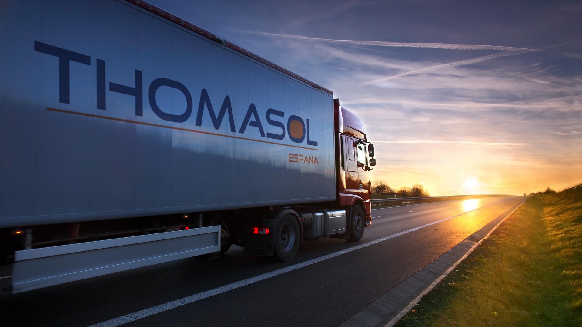 Foto Camión Slide Thomasol